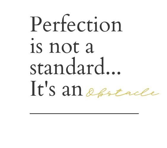 Perfekt unperfekt - raus aus der perfektionsfalle